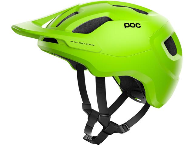 POC Axion Spin Helm fluorescent yellow/green matt